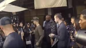 Justin Bieber con i capelli blu, fan impazziscono