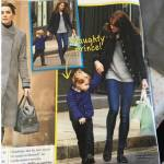 Kate Middleton: casual in jeans insieme a George