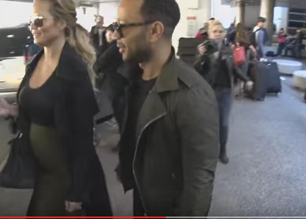 Chrissy Teigen pancione in vista: VIDEO col marito John Legend