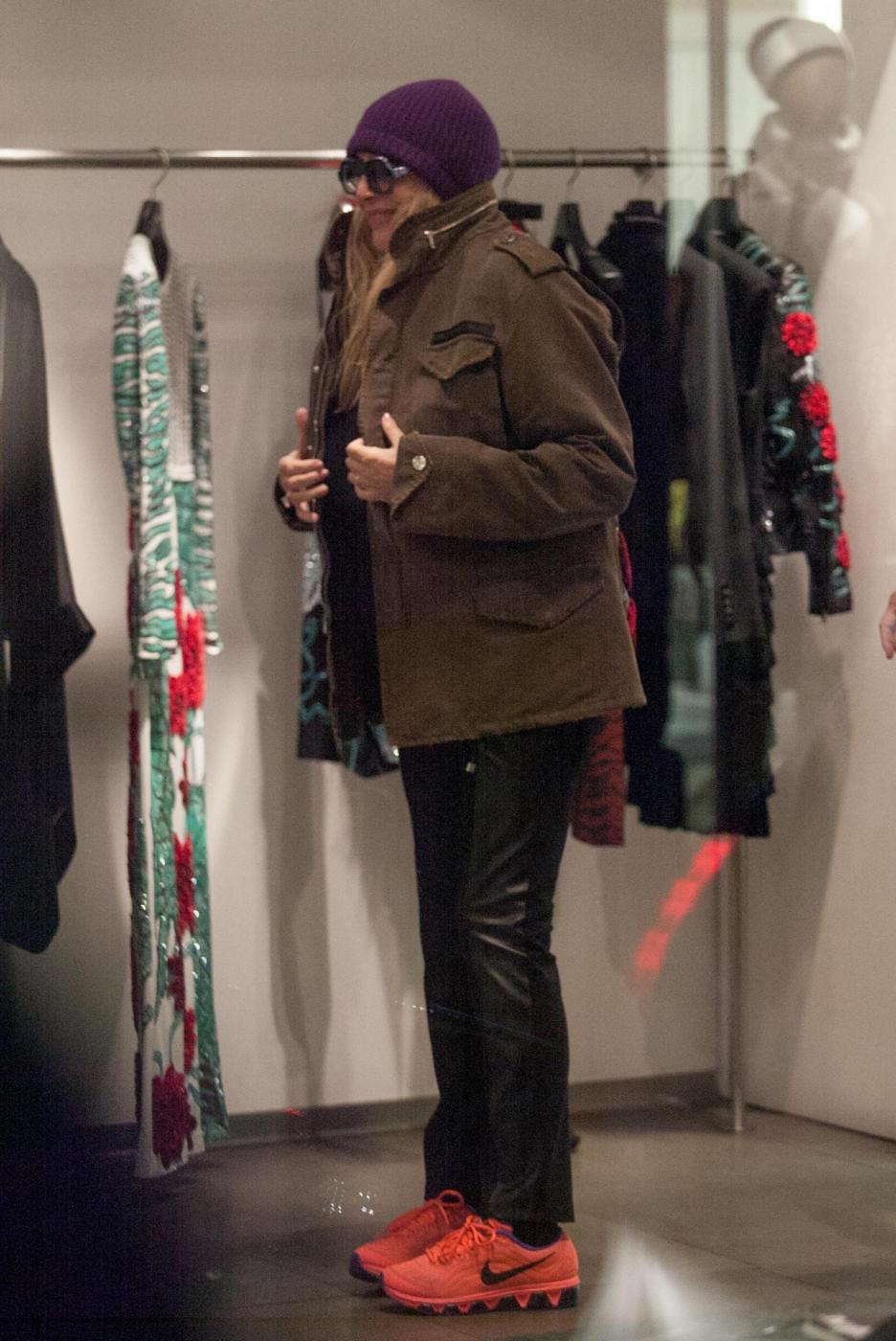 Aldo Montano, Francesco Arca e Mara Venier: shopping da Richmond7