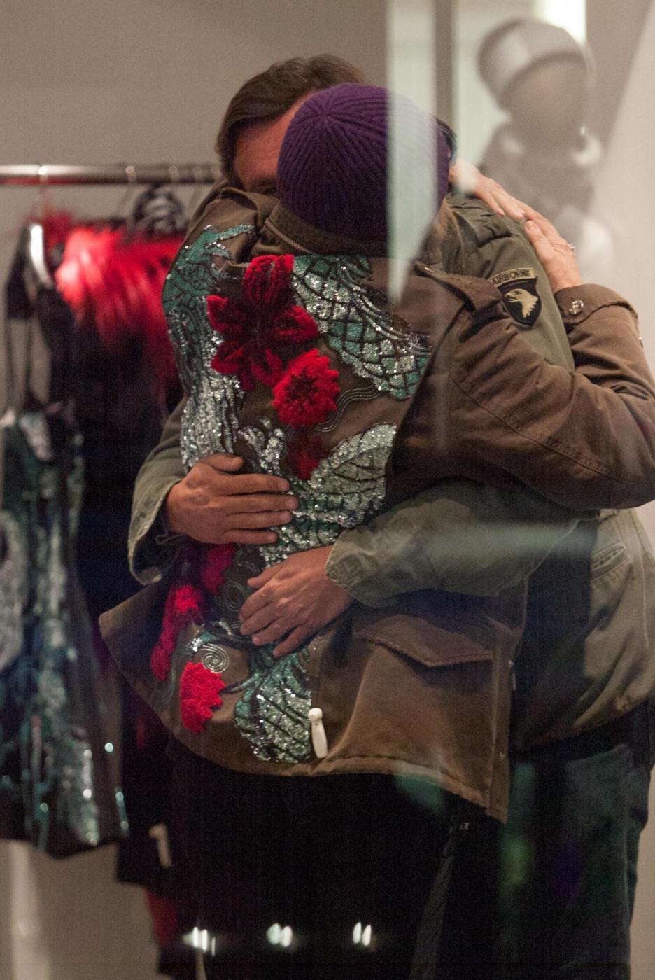 Aldo Montano, Francesco Arca e Mara Venier: shopping da Richmond9