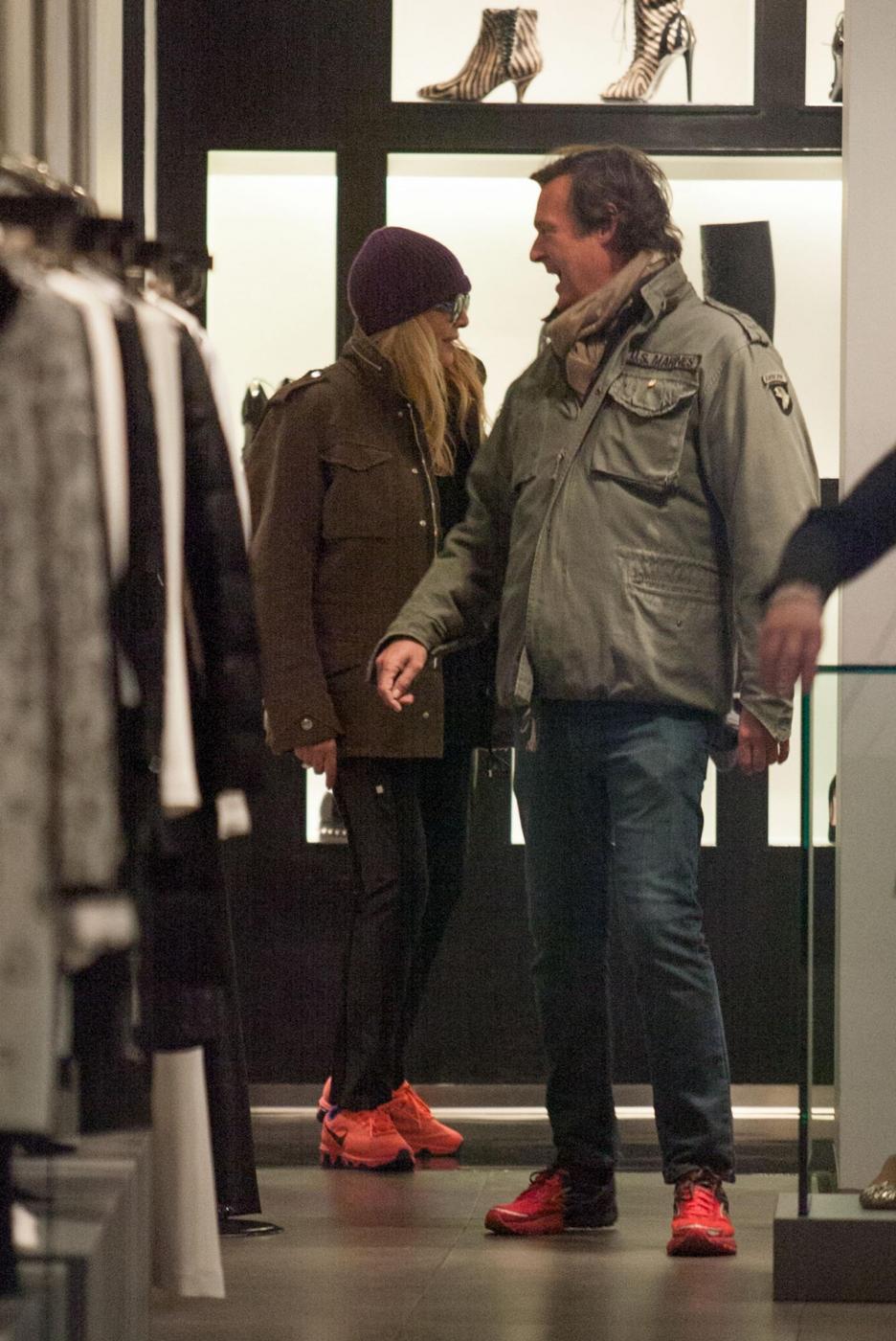 Aldo Montano, Francesco Arca e Mara Venier: shopping da Richmond10