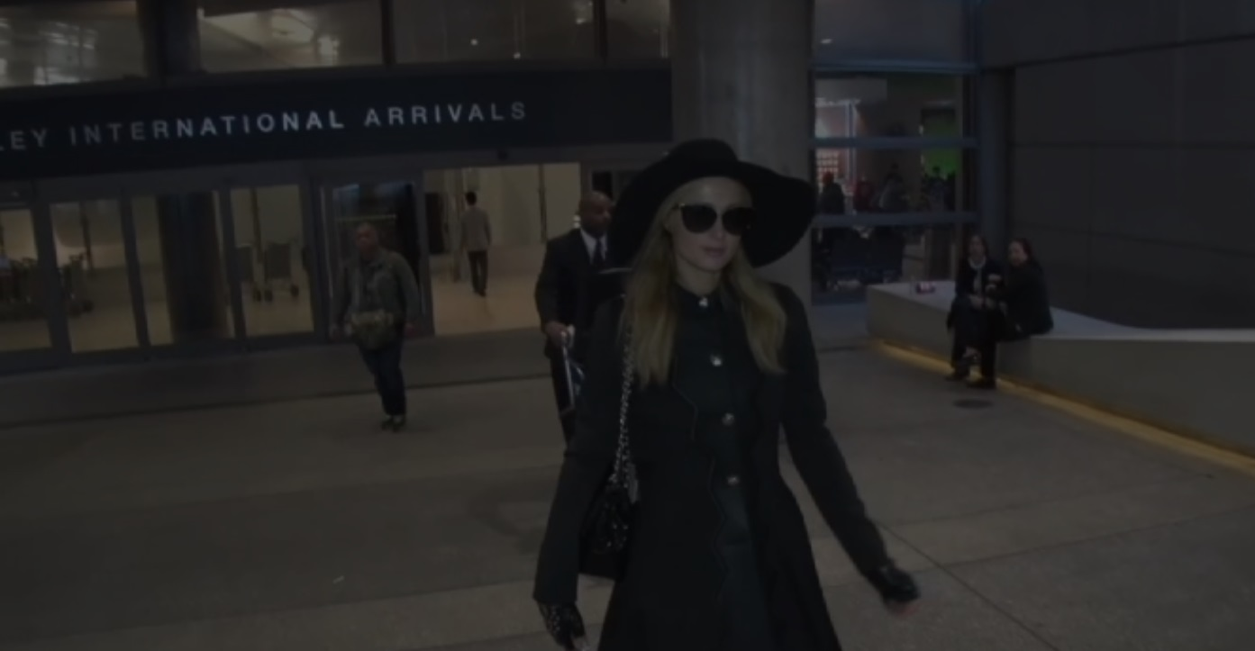 Paris Hilton in lutto