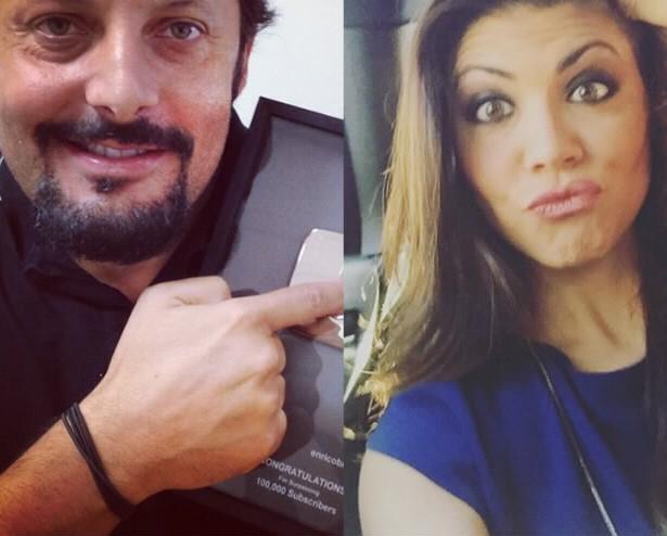 Enrico Brignano: chi è la fidanzata Flora Canto FOTO