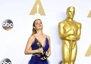 Oscar 2016, chi è Brie Larson, miglior attrice protagonista