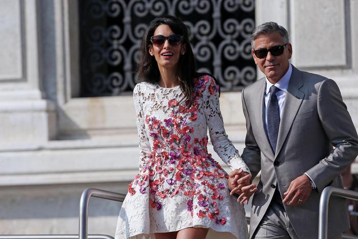 Amal Alamuddin torna sposa con...Giambattista Valli FOTO
