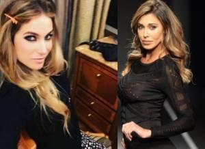 Eleonora Pedron e Belen Rodriguez: look a confronto FOTO