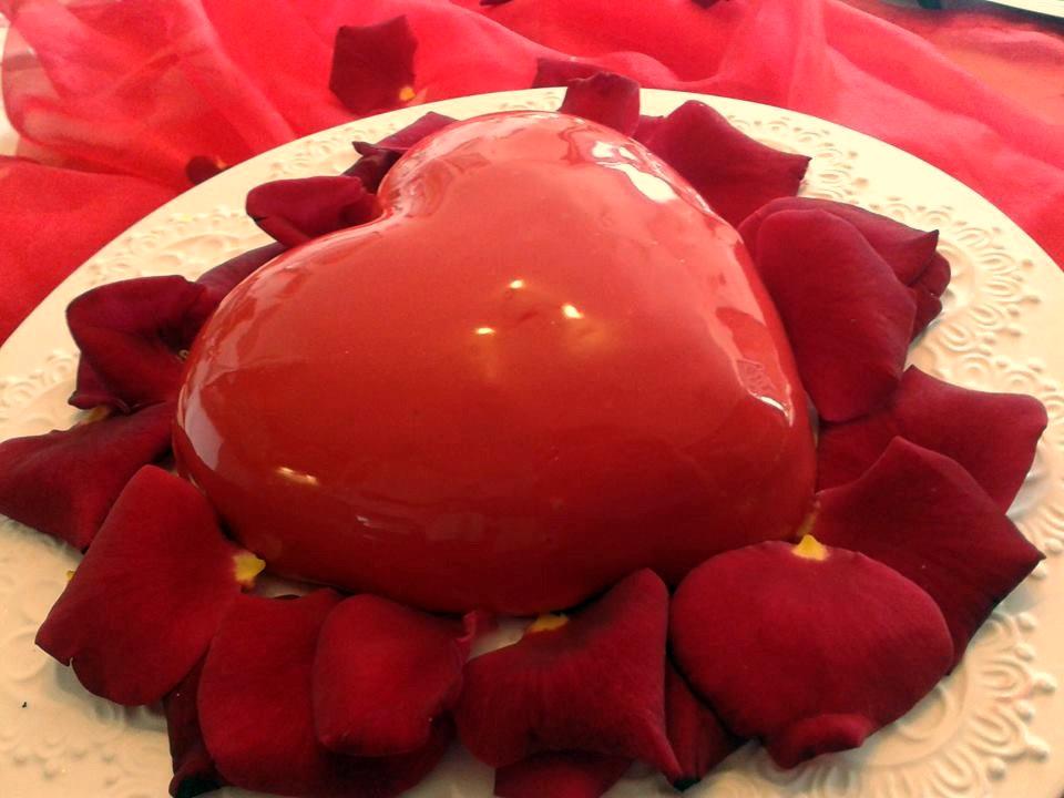 Torta Amore... Per un San Valentino di Passione