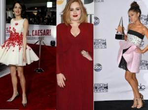 Amal Alamuddin, Adele, Ariana Grande in Giambattista Valli FOTO
