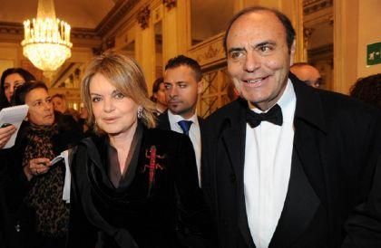 Bruno Vespa: chi è la moglie Augusta Iannini FOTO