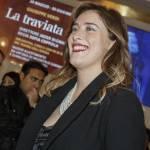 Maria Elena Boschi, rossetto rosso e look total black FOTO 7