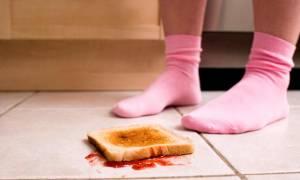 Cibo caduto per terra si può mangiare? Risponde la scienza
