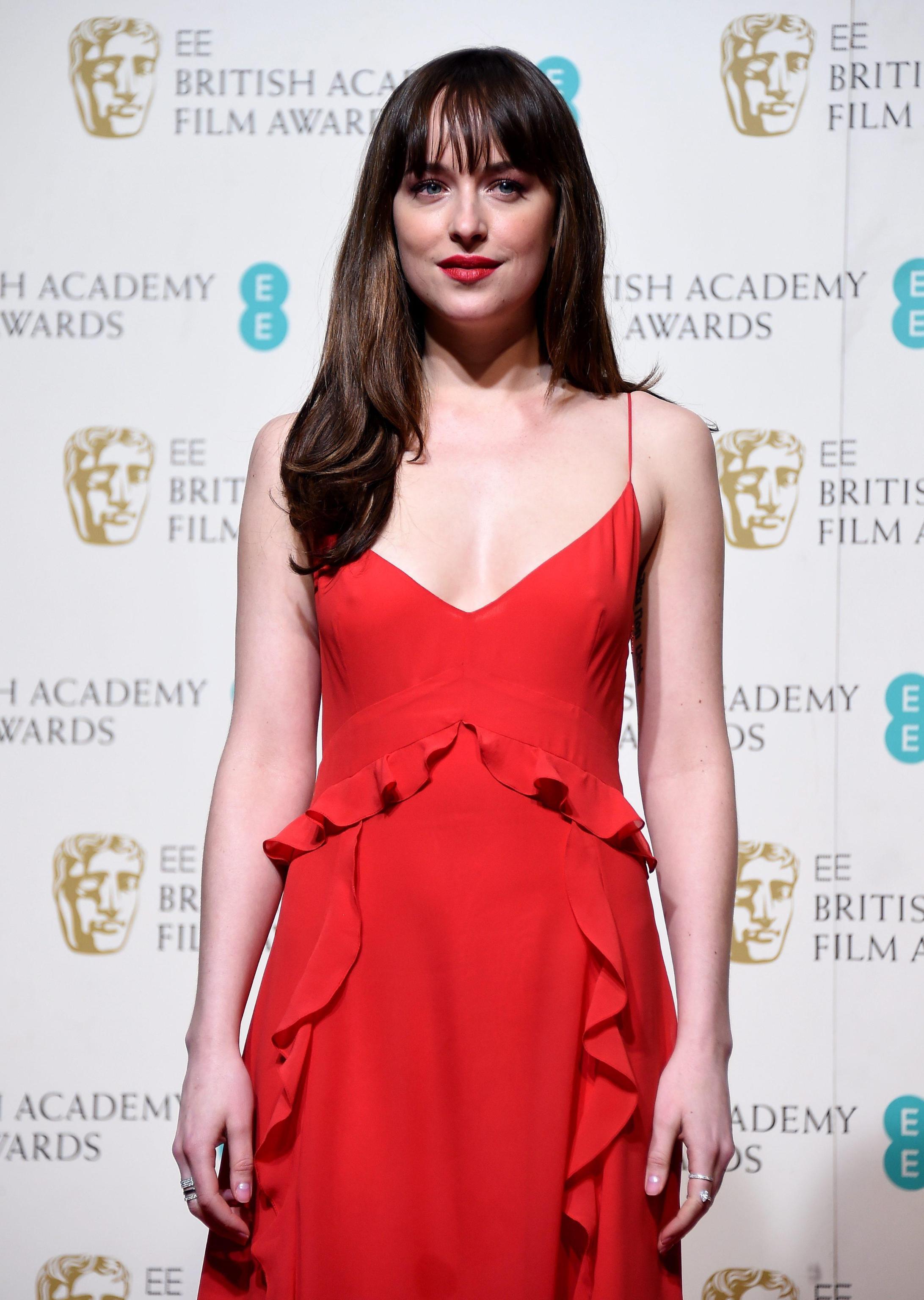 Kate Winslet, Dakota Johnson, Cate Blanchett ai BAFTA: pagelle
