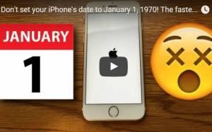 iPhone, nuovo virus: attenzione, non impostate questa data