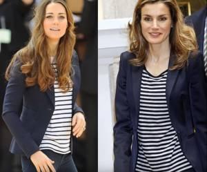 Letizia Ortiz e Kate Middleton, i look a confronto FOTO e VIDEO