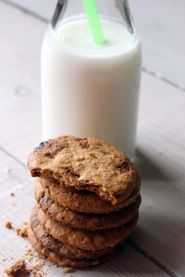 Biscotti Integrali con Fiocchi d'Avena