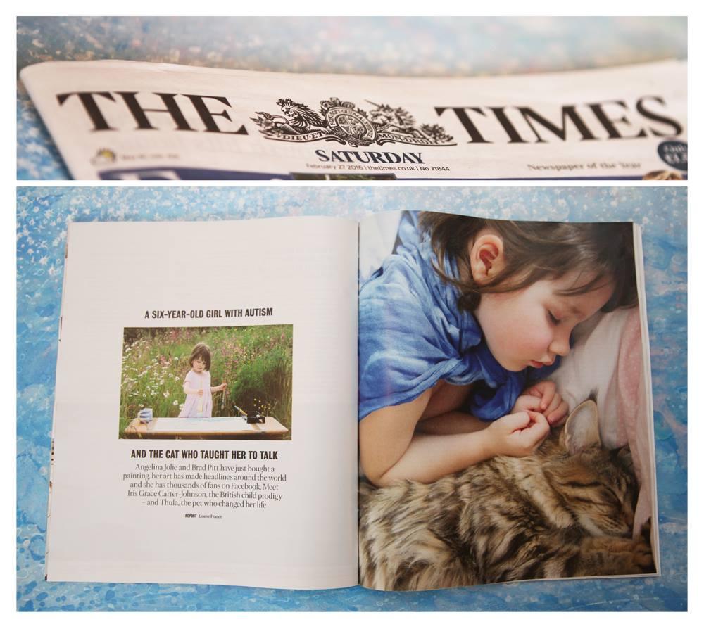 Grace, bimba autistica di 6 anni salvata dal gatto9