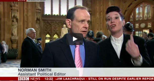 Protestano disabili bbc cacciata dal parlamento for Diretta dal parlamento