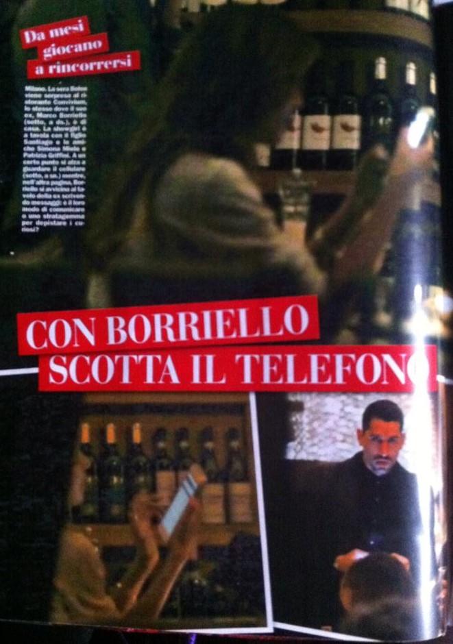 Belen Rodriguez e Marco Borriello: stesso locale. Un caso?