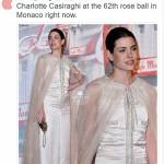 Charlotte Casiraghi: tutina bianca firmata Chanel FOTO/VIDEO