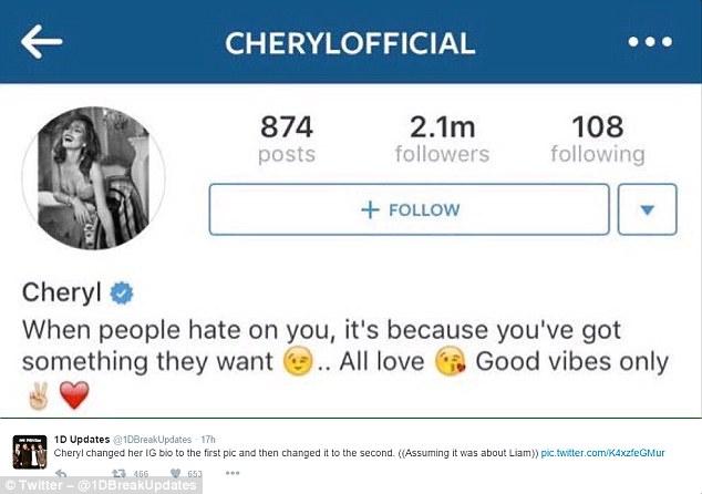 """Liam Payne, sfogo di Cheryl Fernandez: """"Quando ti odiano..."""""""