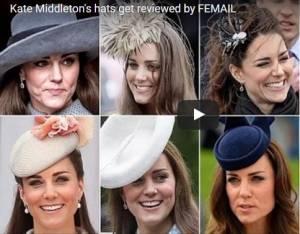 Kate Middleton, cappellini mania! FOTO dei più belli