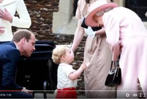 "Kate Middleton: ""Regina Elisabetta, George la chiama..."" FOTO"