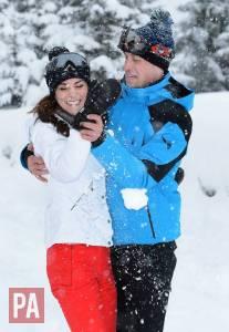 Kate Middleton, look in tuta da sci con William e figli! FOTO