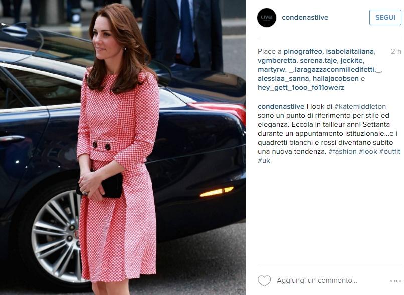 Kate Middleton, lezioni di stile: tubino anni '60 FOTO