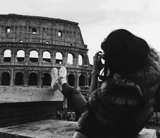 Kendall Jenner a Roma per il party Fendi FOTO
