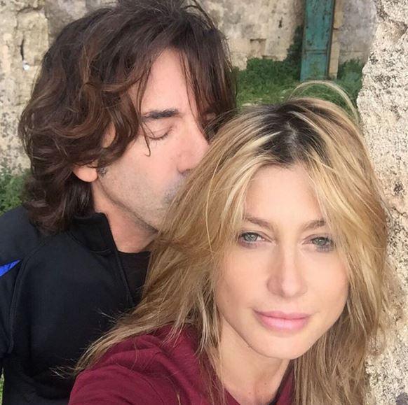 Maddalena Corvaglia, chi è il marito, Stef Burns FOTO
