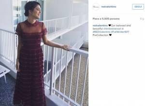 Martina Stoessel (Violetta) diva: elogiata da una casa di moda