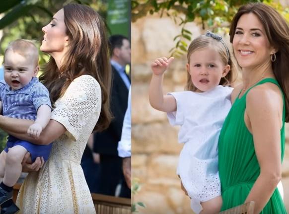 Mary di Danimarca come Kate Middleton: look chic e trendy FOTO