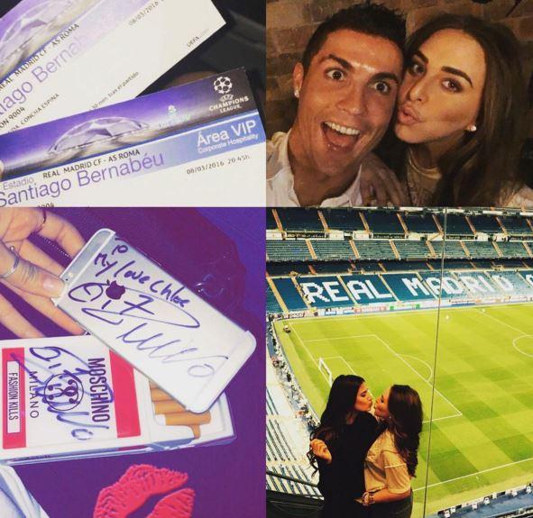 Cristiano Ronaldo, su Instagram la FOTO con Chloe Green