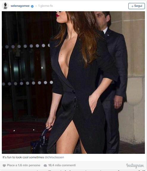 Selena Gomez bloccata in un'ascensore a Parigi