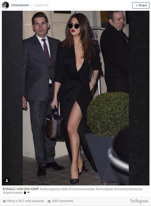 Selena Gomez bloccata in un'ascensore a Parigi8