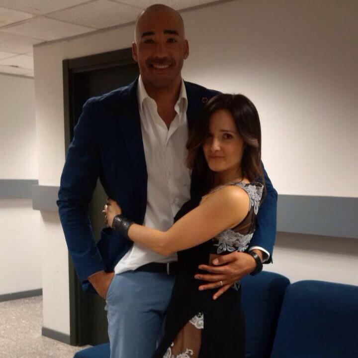 Amaurys Perez, chi è la moglie, Angela Rende FOTO 5