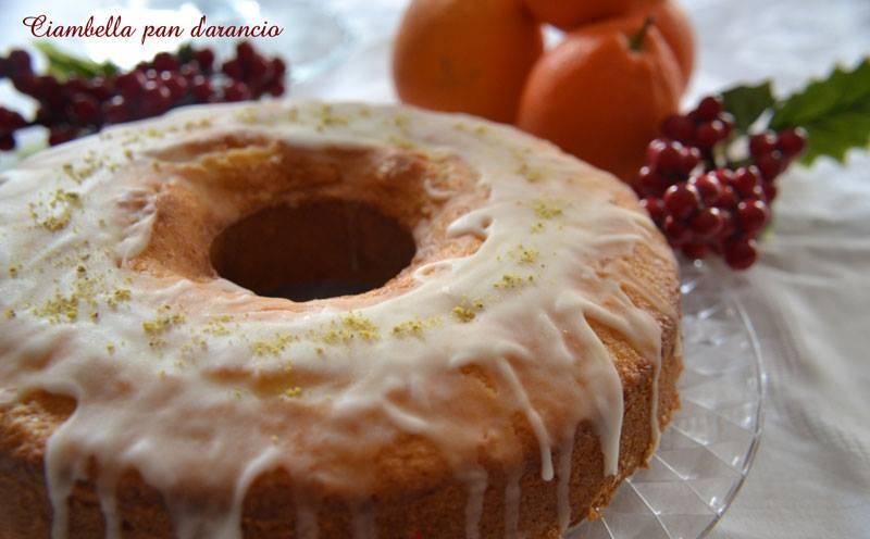 Ciambella Pan di Arancia