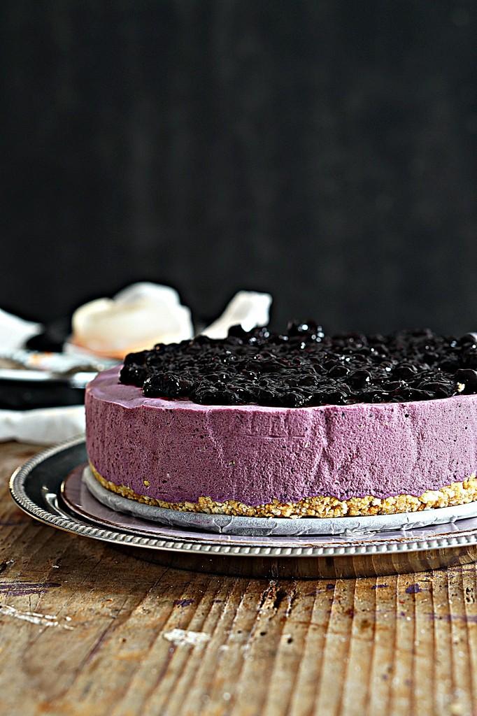 Mousse Cake Ai Mirtilli Una Delizia Che Sa Di Bosco