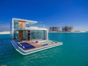 Floating Seahorse, villa immersa nel mare di Dubai10