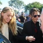 Johnny Depp, Amber Heard: cani in Australia4