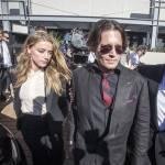 Johnny Depp, Amber Heard: cani in Australia2