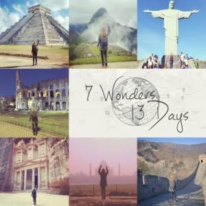 Megan ha cancro: visita 7 meraviglie del mondo in 13 giorni4