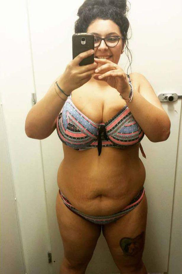 """indossare il bikini, sei grassa"""": e lei reagisce2"""