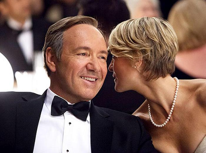 Robin Wright, first lady di house of Cards compie 50 anni6