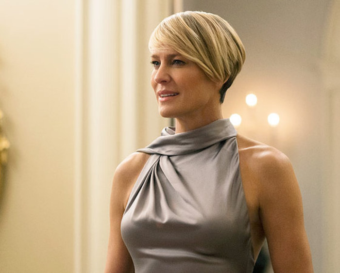 Robin Wright, first lady di house of Cards compie 50 anni9