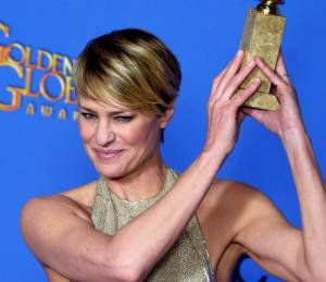 Robin Wright, first lady di house of Cards compie 50 anni8