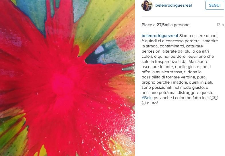 Belen Rodriguez: ecco la sua ultima passione. Su Instagram...