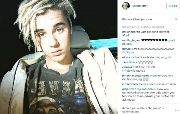 Justin Bieber FOTO nuovo look su Instagram, e le fan...