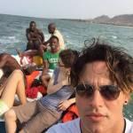 Gabriel Garko, volontario per la Sierra Leone: FOTO